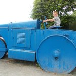 The steam roller, Joel loved this.