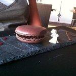le macaron chocolat ;)