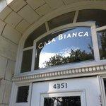 Casa Bianca entrance