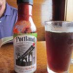 Yummy Portland ketchup & a Hazelnut Rogue