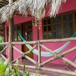 Casa Palapas del Sol--Hammock on a Room's Porch