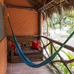 Casa Palapas del Sol--A Welcoming Hammock on a Room's Porch