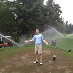 Sprinklers on 2nd Tee Box (Dunegrass)