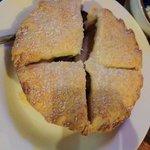 huge apple pie