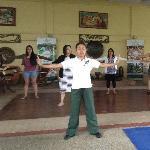 tai chi morning exercise