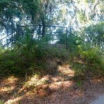 Fort Mitchel - path to top of earthworks