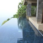 private pool shared with other Talay suite