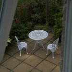 Patio from Lapwing Room