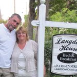 Langdon House sign