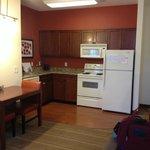 Kitchen area in King Studio Room