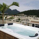 I love the Jacuzzi.