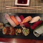 mixte Sushis et sashimis