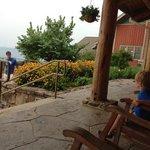 the veranda by the childrens garden