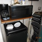 Refrigerator and microwave