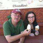 Chandlers home made ice cream