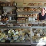 Great selection of local cheese