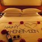 Happy Honeymoon welcome