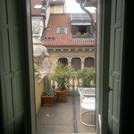 il balconcino della nostra stanza