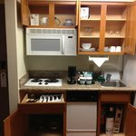 Nice little kitchen in the room