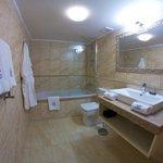 Ванная комната номера категории Люкс