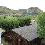vistas del bungalow
