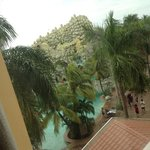 Outside my room