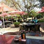Dining on the Terrace in Springbok Park