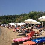 Beach of the hotel