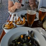 Moules fritte