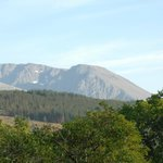 View of Ben Nevis from Lodge