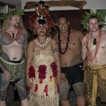 Traditional Samoan cultural night