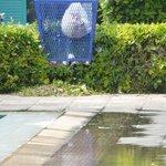 Poubelle de la piscine (sans fond)