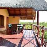 Deck 3 bedroomhouse overlooking Kruger NP
