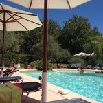 la piscine de l hôtel