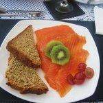 Ottimo salmone a colazione!!