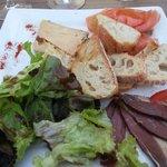 Foie Gras, Smoked Salmon & Duck Entree - OK