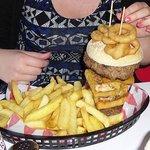 The Titanic Burger!