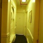 vue du corridor menant à ma chambre.