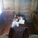 Vue de la cabine du capitaine