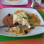 my rather tasty burrito