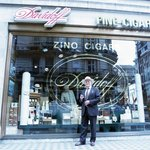 Edward Sahakian - proprietor of Davidoff of London