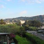 Vista dal terrazzo della nostra camera