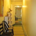 Hallway leading to Louisburg