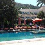 piscina dell' hotel Capri Palace