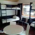 Chambres de 4 lits