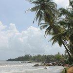 Patnem beach, 5 mins walk from Bahkti Kutir
