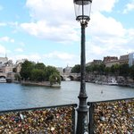 Lover's Bridge Pont des Arts