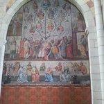 Wandgemälde der Ahnenreihe Jesu