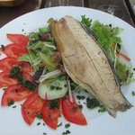Wonderful trout salad