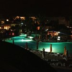 bigger pool at night